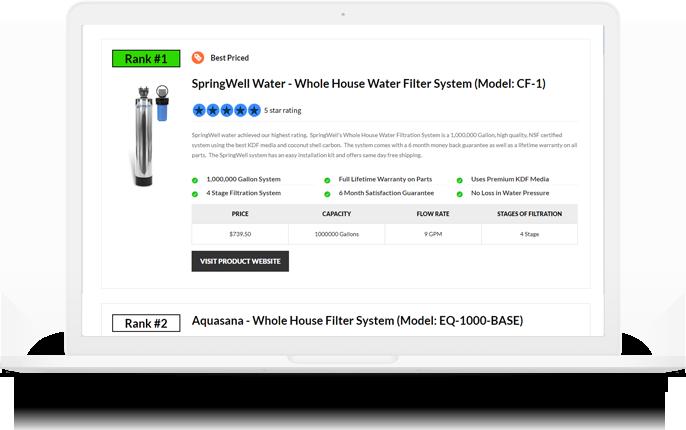 filter faq screenshot