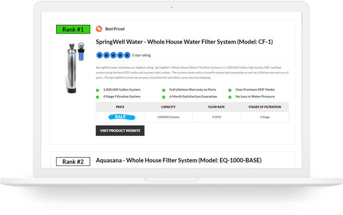 water filter review